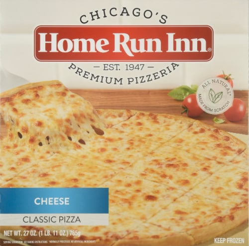 Home Run Inn Classic Cheese Pizza Perspective: front