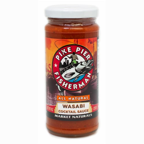 Pike Pier Fisherman Wasabi Cocktail Sauce Perspective: front