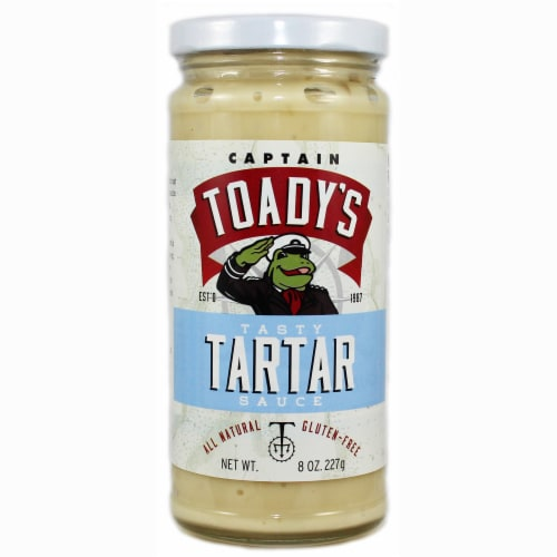 Captain Toady's Tasty Tartar Sauce Perspective: front