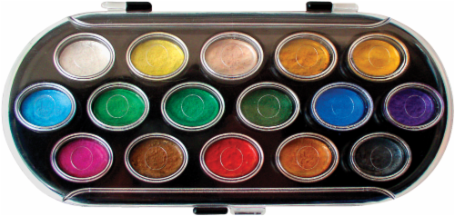 Yasutomo Pearlescent Watercolor Paint Set - Multi-Color Perspective: front