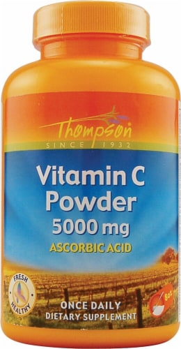 Thompson  Vitamin C Powder Perspective: front
