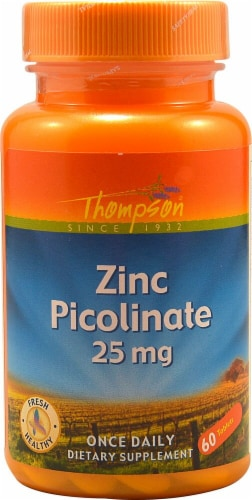 Thompson  Zinc Picolinate Perspective: front