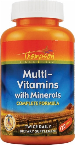 Thompson  Multi-Vitamin with Minerals Perspective: front
