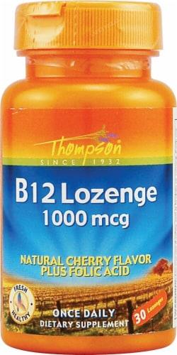 Thompson  B12  Cherry Lozenges Perspective: front