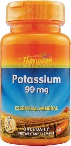 Thompson  Potassium Tablets Perspective: front