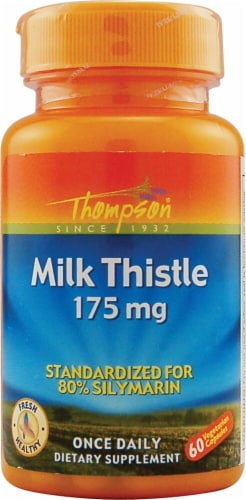 Thompson Milk Thistle 175 mg Perspective: front