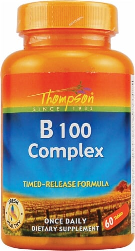 Thompson  B 100 Complex Timed-Release Capsules Perspective: front