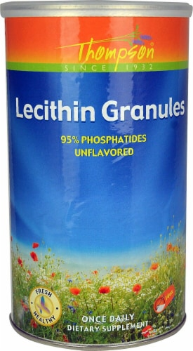 Thompson  Lecithin Granules   Unflavored Perspective: front