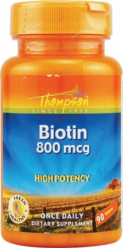 Thompson  Biotin Perspective: front