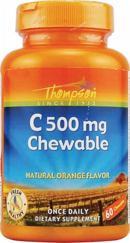 Thompson  Vitamin C Chewables Perspective: front