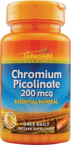 Thompson  Chromium Picolinate Perspective: front