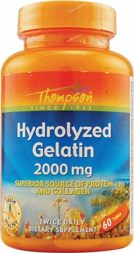 Thompson  Hydrolyzed Gelatin Perspective: front