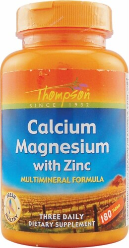 Thompson  Calcium Magnesium with Zinc Multimineral Formula Perspective: front