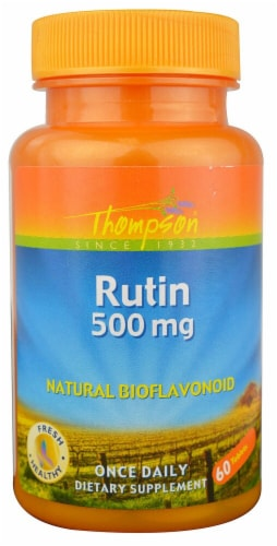 Thompson  Rutin Tablets Perspective: front
