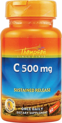 Thompson  C Sustained Release Tablets Perspective: front