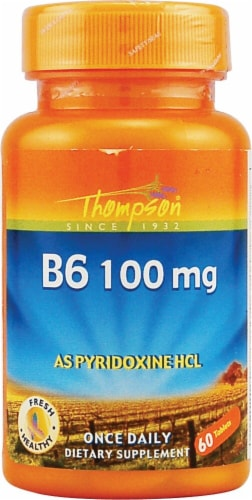 Thompson  B 6 as Pyridoxine HCL Tablets Perspective: front