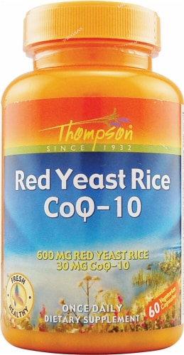 Thompson  Red Yeast Rice CoQ-10 Perspective: front
