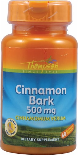 Thompson Cinnamon Bark 500 mg Perspective: front