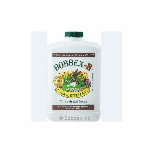 Bobbex-R B550120 Animal Repellant Quart Concentrate Bottle Perspective: front