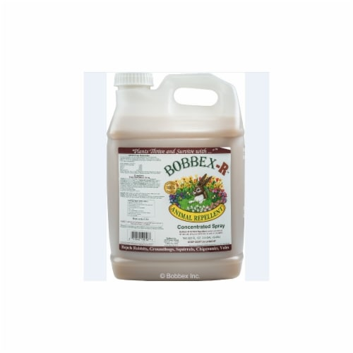 Bobbex-R B550185 Animal Repellant Concentrate 2.5 Gallon Bottle Perspective: front