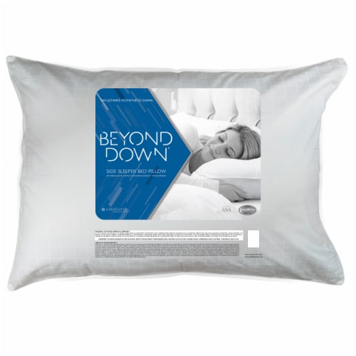 Beyond Down Side Sleeper Pillow Perspective: front