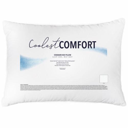 Sleep Better Coolest Comfort Pillow Perspective: front
