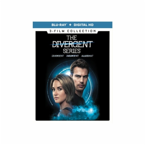 The Divergent Series: 3-Film Collection (Blu-Ray/Digital HD) Perspective: front
