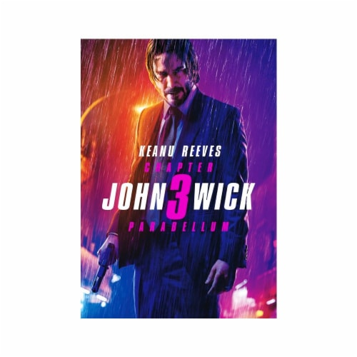 John Wick: Chapter 3 - Parabellum (2019 - DVD) Perspective: front