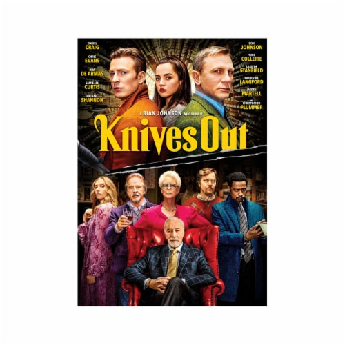 Knives Out (2019 - DVD) Perspective: front