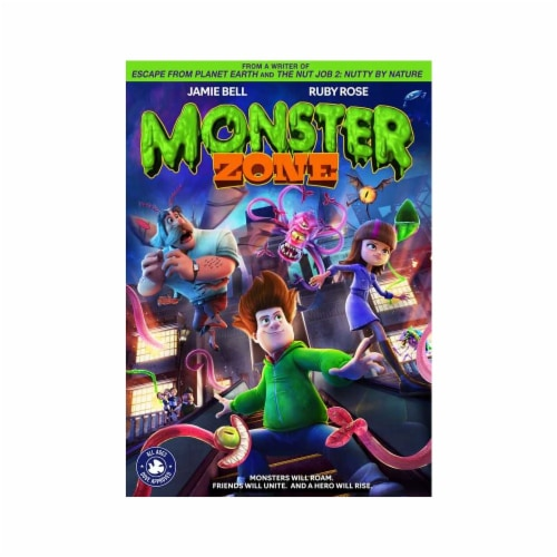 Monster Zone (2020 - DVD) Perspective: front