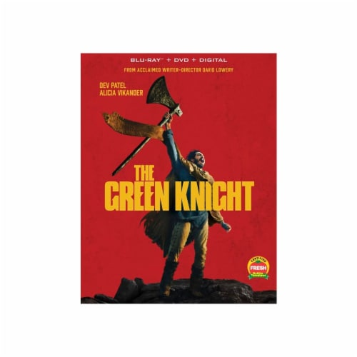 The Green Knight (Blu-Ray + DVD) Perspective: front