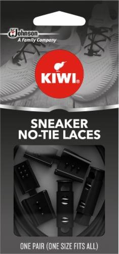 KIWI® Sneaker No-Tie Laces - Black Perspective: front