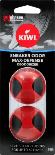 KIWI® Sneaker Odor Defense Max-Defense Deodorizer Perspective: front