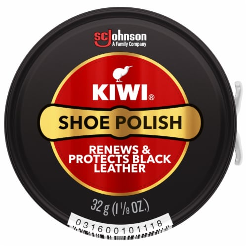 Kiwi® Shoe Polish Paste - Black Perspective: front