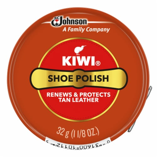 Kiwi® Shoe Polish - Tan Perspective: front