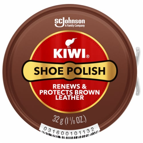 KIWI® Shoe Polish - Brown Perspective: front