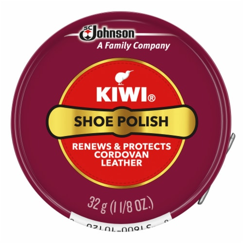 Kiwi® Shoe Polish Paste - Cordovan Perspective: front