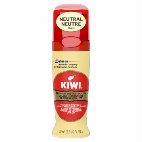 Kiwi® Leather Premiere Shine Polish - Neutral Perspective: front