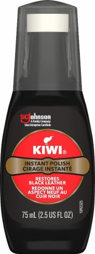 Kiwi Instant Wax Shine - Black Perspective: front