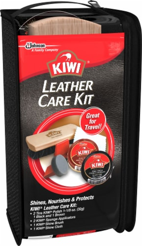 Kiwi Leather Care Kit Perspective: front
