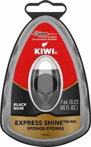 Kiwi® Express Instant Shine Sponge - Black Perspective: front