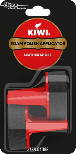 KIWI® Foam Polish Applicator 2 Count Perspective: front