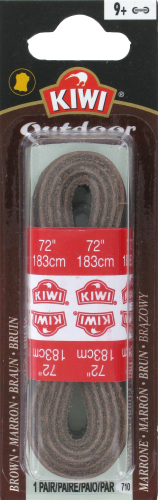 Kiwi Dark Brown Leather Rawhide Perspective: front