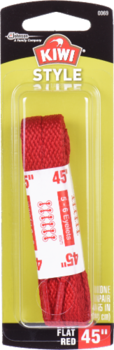 Kiwi Laces Red - 45 Inch Perspective: front