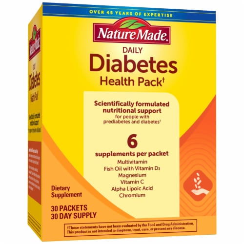 Nature Made Diabetes Health Pack Perspective: front