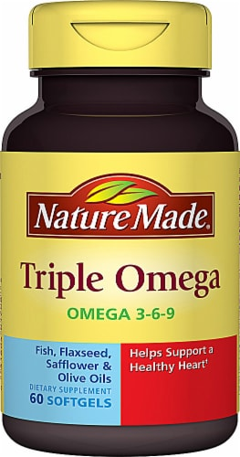 Nature Made  Triple Omega 3 6 9 Perspective: front