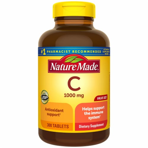 Nature Made Vitamin C Tablets 1000mg Perspective: front