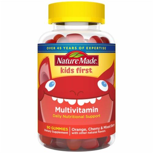Nature Made Kids First Multi Gummies 90 Count Perspective: front