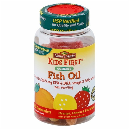 Nature Made Kids First Fish Oil Gummies Perspective: front