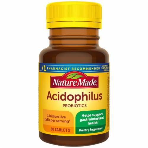 Nature Made® Acidophilus Probiotics Tablets Perspective: front